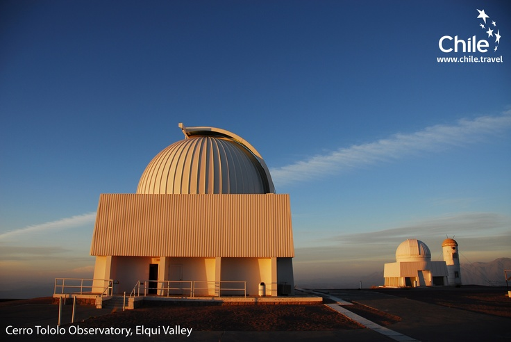 The Cerro Tololo Observatory is the oldest center in the Southern Hemisphere, located in the Elqui Valley, #Chile
