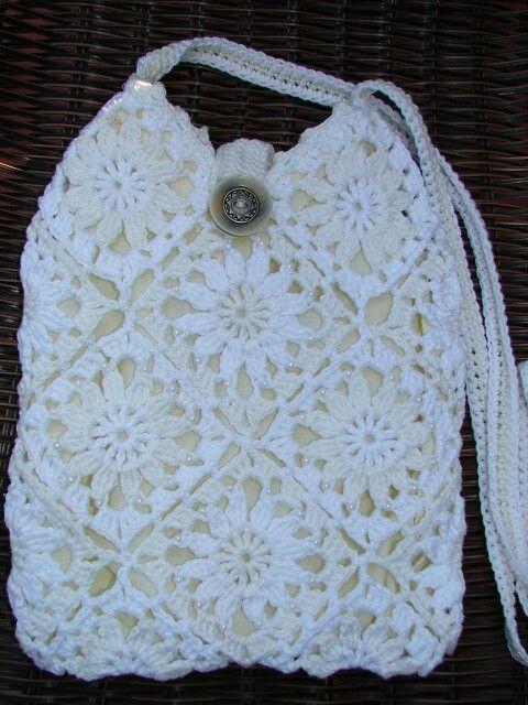 My crochet bag too :)