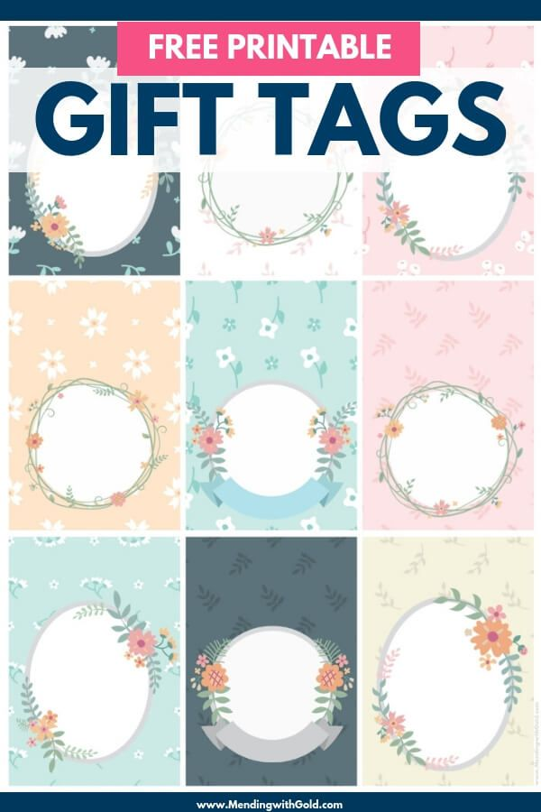 Free Printable Decorative Gift Tags For Any Occasion Free
