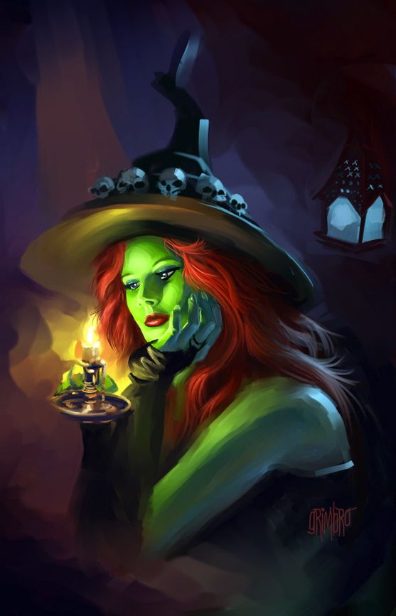 magick wicca witch witchcraft boo by grimbro - Halloween Witchcraft