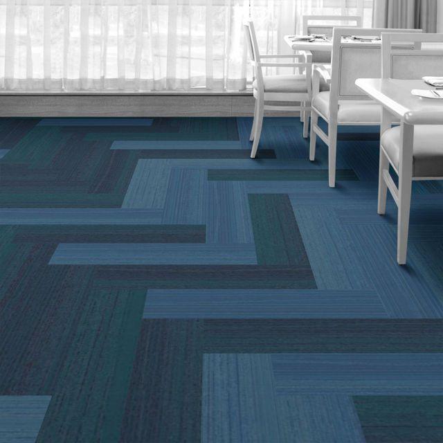 Interface Floor Design Walk The Plank Juniper Walk The Plank Eucalyptus Walk The Plank Eucalyp Floor Design Commercial Carpet Tiles Modular Carpet Tiles