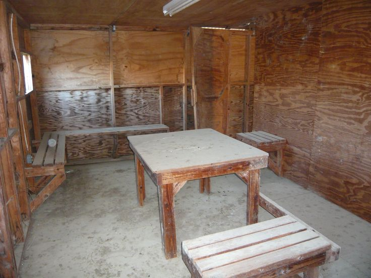 A detainee interrogation room at the Guantanamo Bay detention camp, a U.S. military prison located within the Guantanamo Bay Naval Base, Cuba. (Tim Mak/Washington Examiner)
