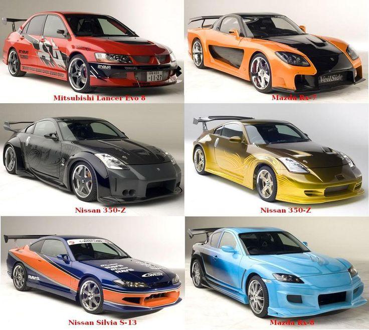 Tokyo Drift Cars Mitsubishi Lancer Evo Cars Pinterest