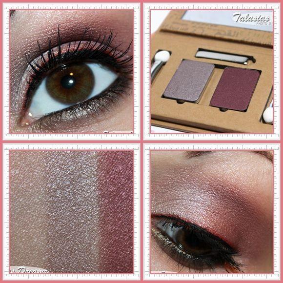 Pearly Eyeshadow Aubergine Beige, Plum Brown, #53 Red Brown #makeup #organic #couleurcaramel #crueltyfree #eyeshadow