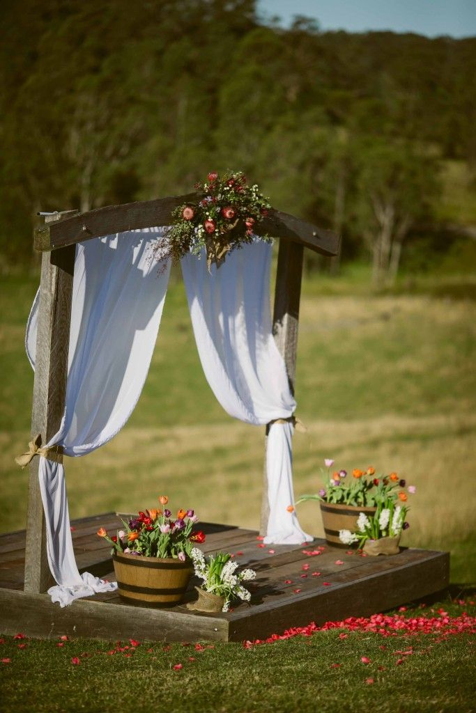 17 Best Ideas About Rustic Wedding Archway On Pinterest