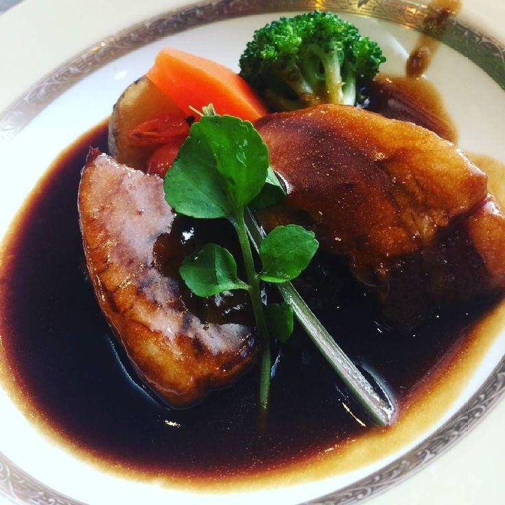 黒豚の地ビール煮込み() お肉がやわらかい  #お肉 #beef  #黒豚 #鹿児島