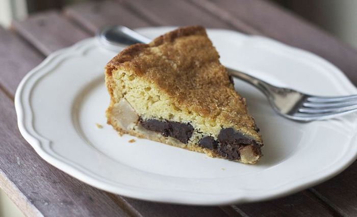 Bittersweet Chocolate and Pear Cake ~ amazing recipe and a sweet ...