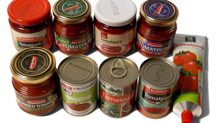 Test av tomatpuré: Terningkast 5 og 6 til alle - Aftenposten