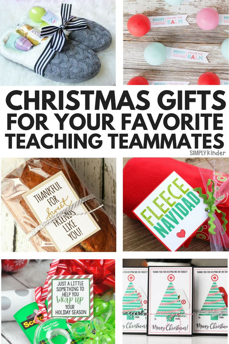 Nice Team Christmas Gift Ideas Part - 7: Easy U0026 Fun Christmas Gifts For Your Teaching Team.