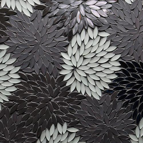 "Estrella Silver Blend Mixed Finish Mosaic  12-1/2"" X 12-1/4"" X 1/8"" Interlocking Sheet"