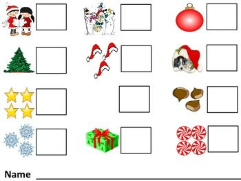 Free Worksheets preschool christmas math activities : 1000+ images about Pre-School Math on Pinterest | Count, Clip art ...
