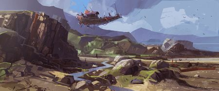 Ian McQue is a concept artist from Edinburgh. His work is about developing environment and characters using traditional and digital techniques, for GTA, Bully, Manhut and many others … yes, he is one of those lucky people working in our dreamed place, the game industry. I guess, if you are illustrator and character developer, you will love Ian's work!