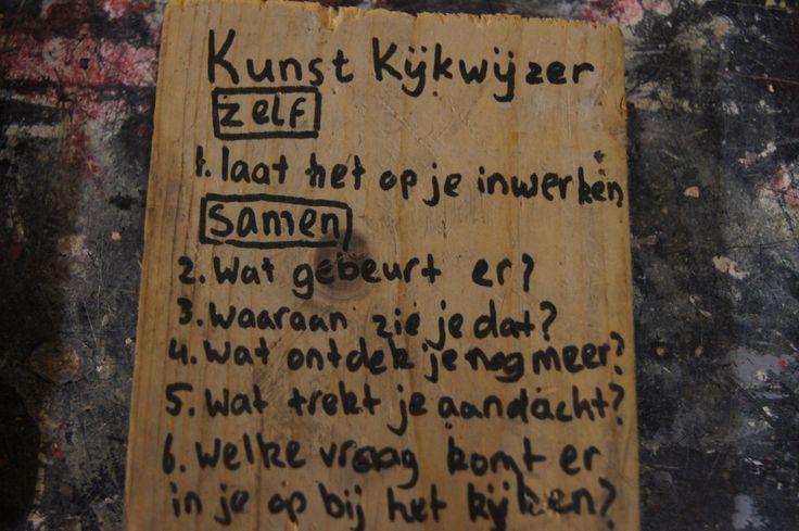 Kunstkijkwijzer naar aanleiding van studiedag in het Rijksmuseum