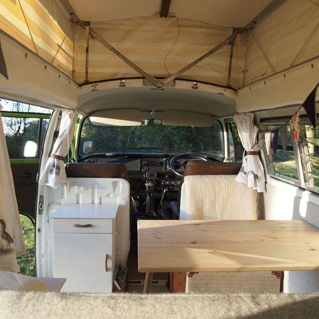 221 best vw interior ideas images on pinterest van for Vw camper van interior designs