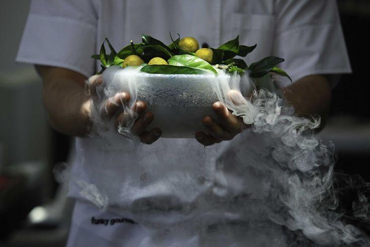 The avant-garde cuisine of Funky Gourmet - The Greek Foundation