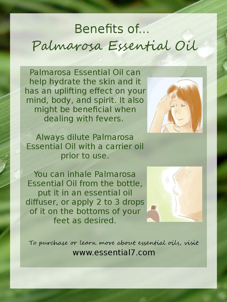 Benefits of Palmarosa Essential Oil