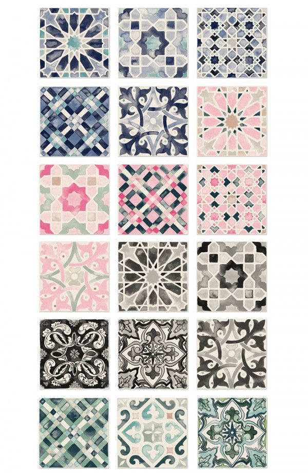 Removable Wallpaper Tiles best 25+ tile wallpaper ideas on pinterest | moroccan tiles