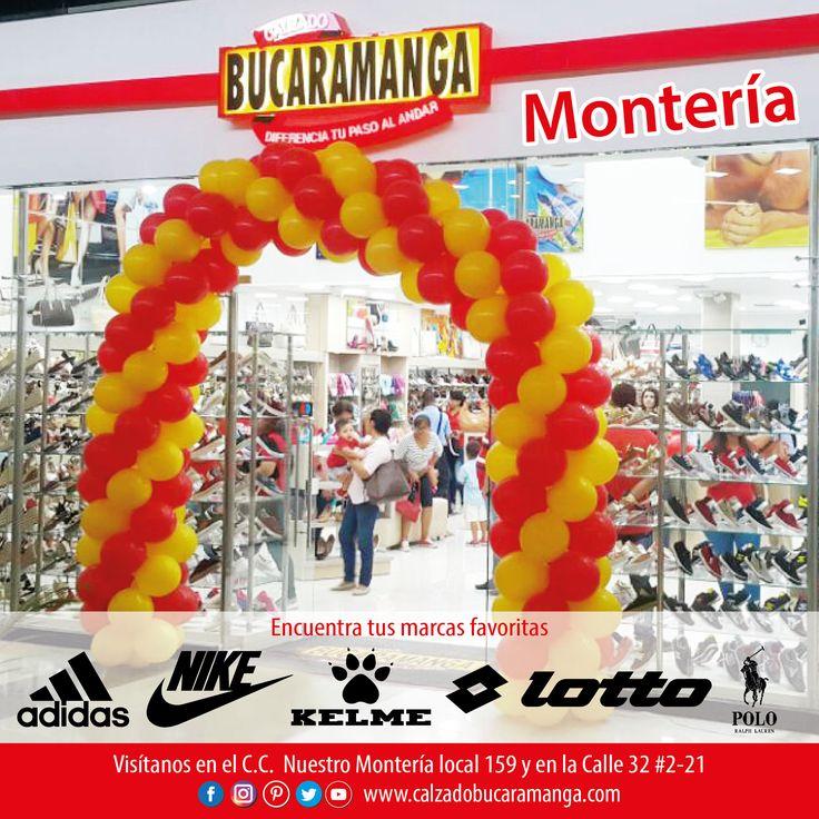 Encuentra tus marcas favoritas en Calzado Bucaramanga de Montería. www.calzadobucaramanga.com #Nike #Lotto #Adidas #Kelme #Polo