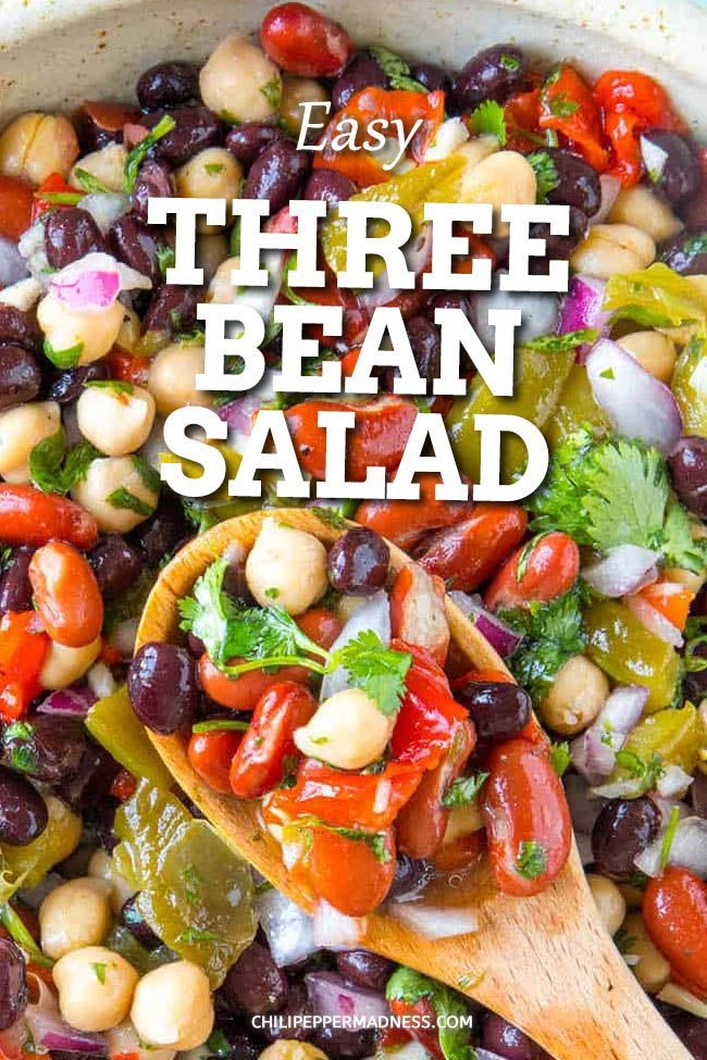 Mike S Zesty Three Bean Salad Recipe In 2020 Best Salad Recipes Bean Salad Recipes Easy Salad Recipes