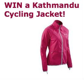 #Win a #Kathmandu Silverdome #Cycle #Jacket! **Competition closes Jan 31st** #contest #sweepstakes #giveaway #fitness #fashion #cycling