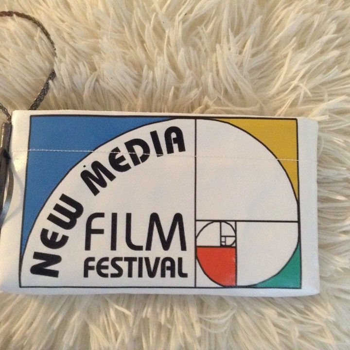 Upcycled, Green, Recycled,  Limited Edition Wristlet from @NewMediaFF http://mkt.com/new-media-film-festival/limited-edition-wristlet