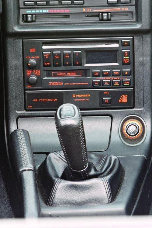 1991 mazda rx 7 fc convertible center console rotaries - Convertible center ...