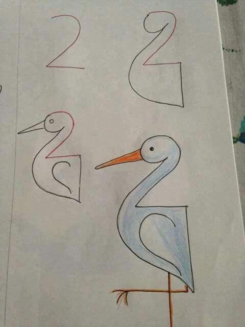 حيل لتعليم الرسم للأطفال.. Idee per imparare ai bambini disegnare