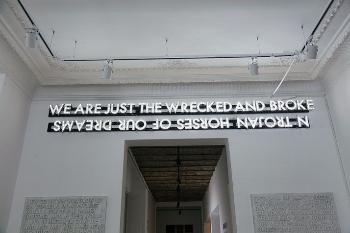 Luminous Poetry and Other Confessions by Robert Montgomery | Yatzer