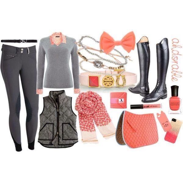 Equestrian girly outfit