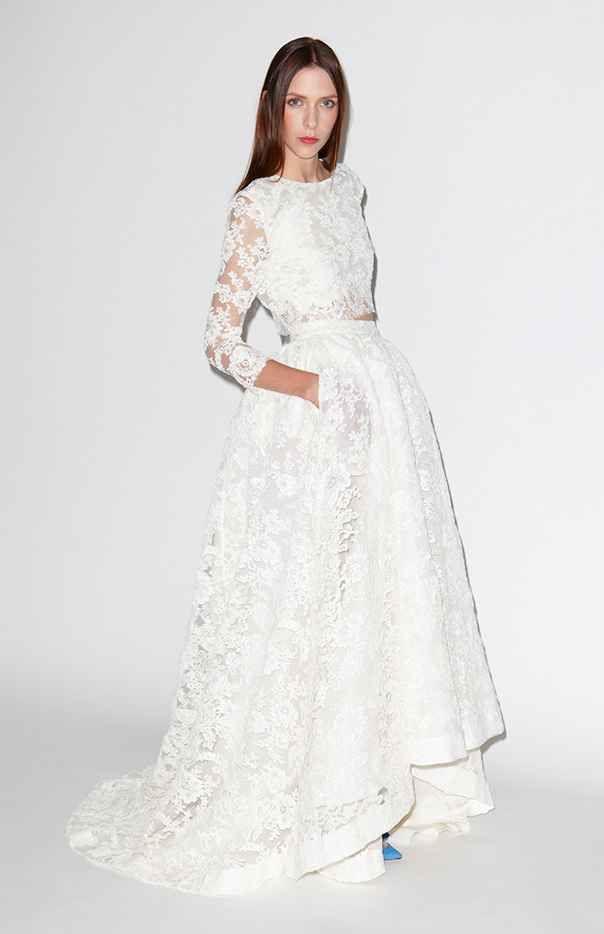 Vestidos de novia 2 piezas. Te atreves? 4