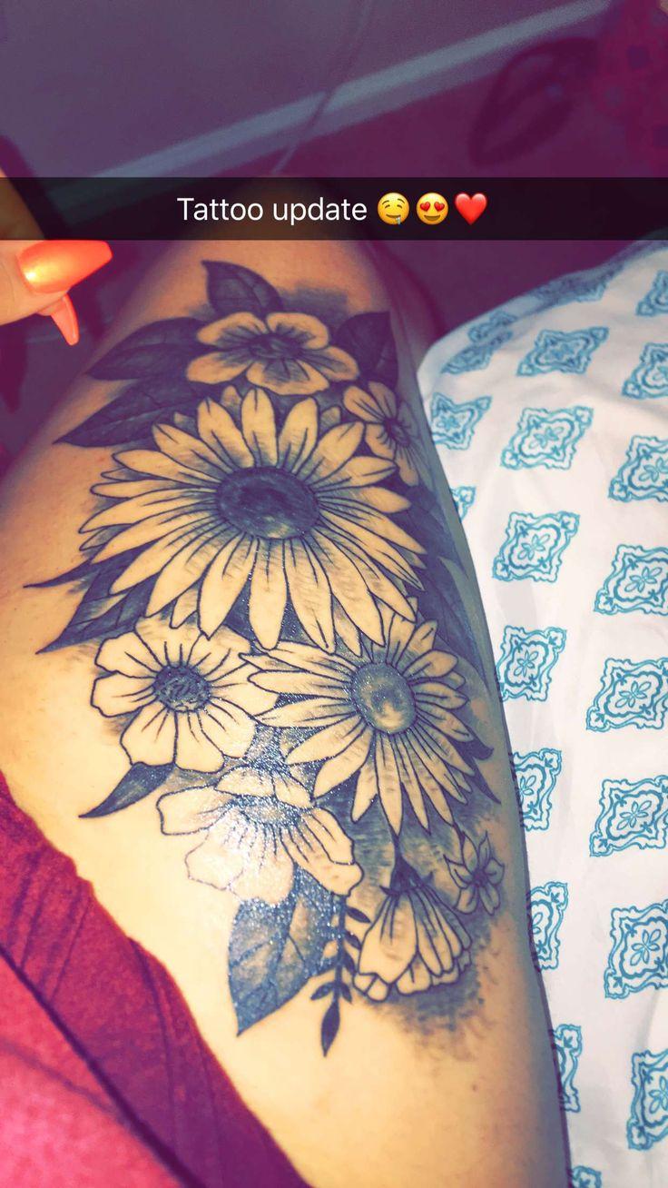 449 besten tattoo bilder auf pinterest t towierungen sonnenblumen und blume. Black Bedroom Furniture Sets. Home Design Ideas