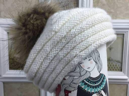Patrón de gorro de lana o Boina