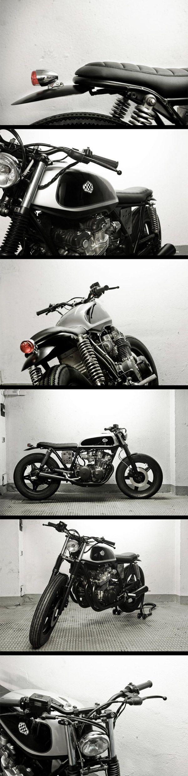 Cafe Racer Dreams : Honda CB 750 kz 1980 bratstyle
