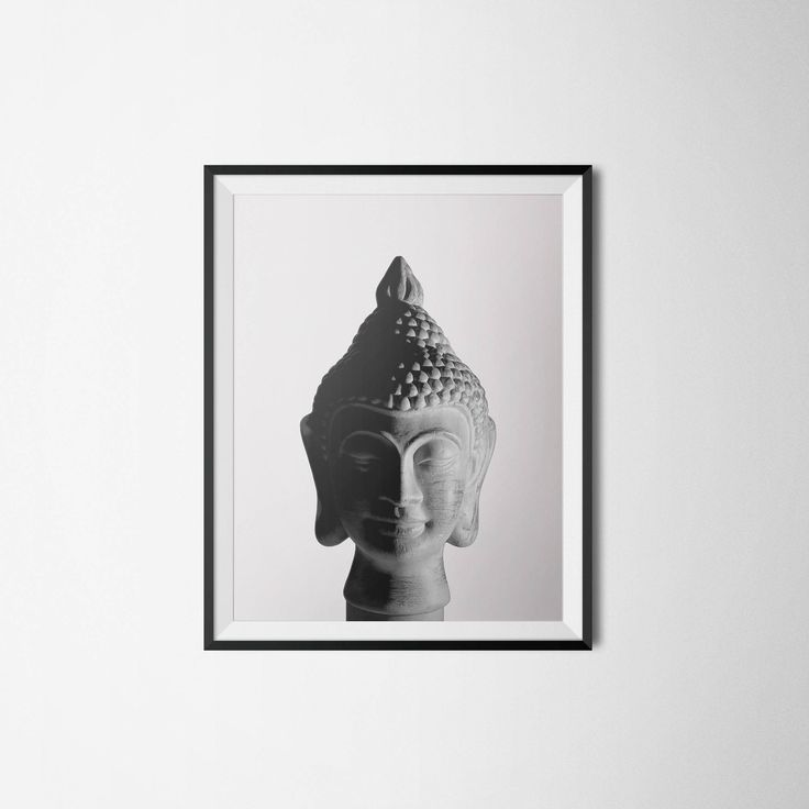 Buddha Print, Black & White Photography, Zen Meditation Print, 5x7 8x10 11x14 16x20 24x30 Art Poster, Zen Decor, Siddhartha Poster, Buddhism by OlaHolaHola on Etsy