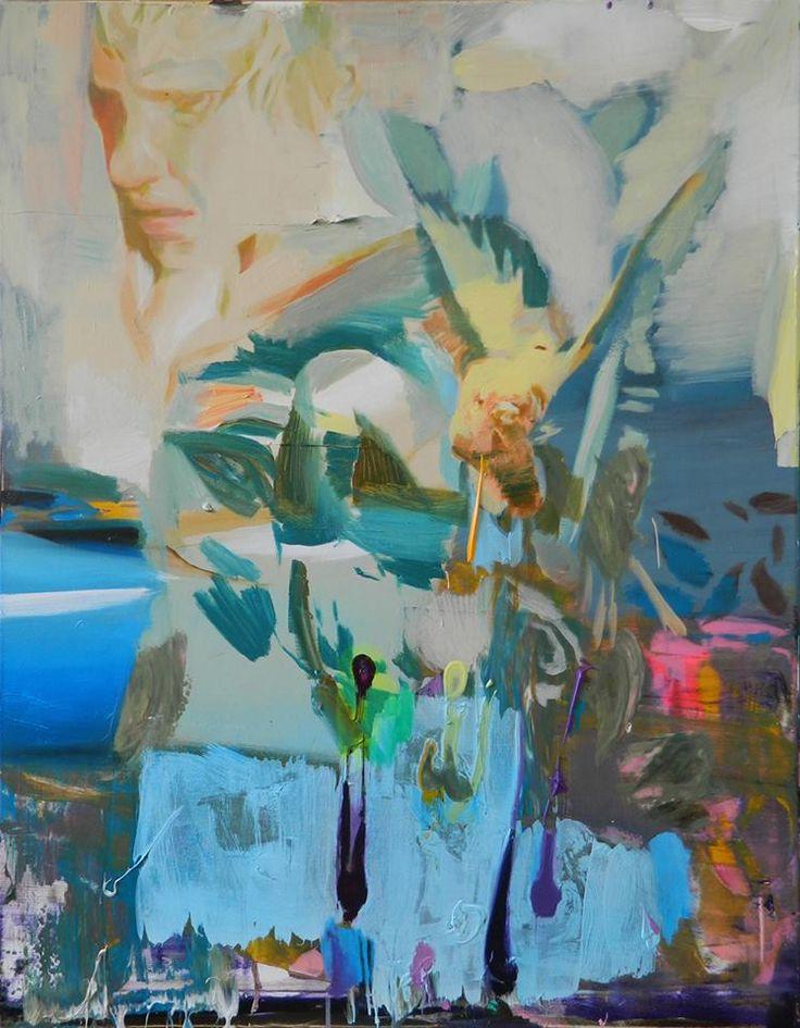 -Only one week to go / Nur noch eine Woche- Giuseppe Gonella, The Bird, 2014 Acrylic on canvas / Acryl auf Leinwand 101 x 81 cm