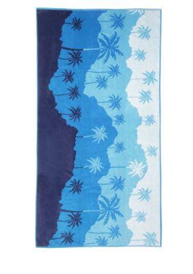 Panama Jack  Panama Jack Horizon Beach Towel - Medium Blue
