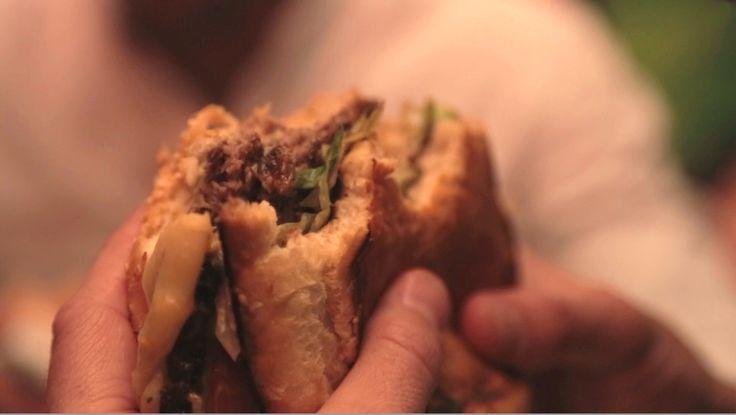 "Burgers at The Nob a.k.a ""No Ordinary Burger"" #ManCaveSA"
