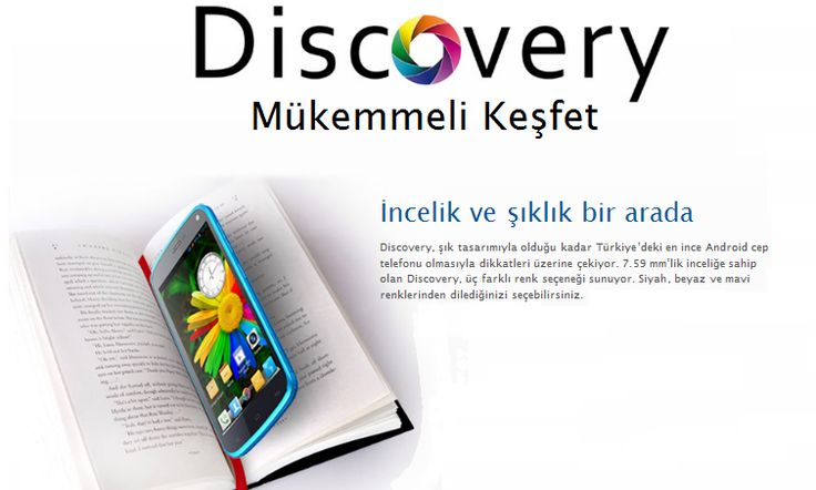 General Mobile Discovery 16GB Beyaz http://www.teknomist.com/general-mobile-discovery-16gb.html