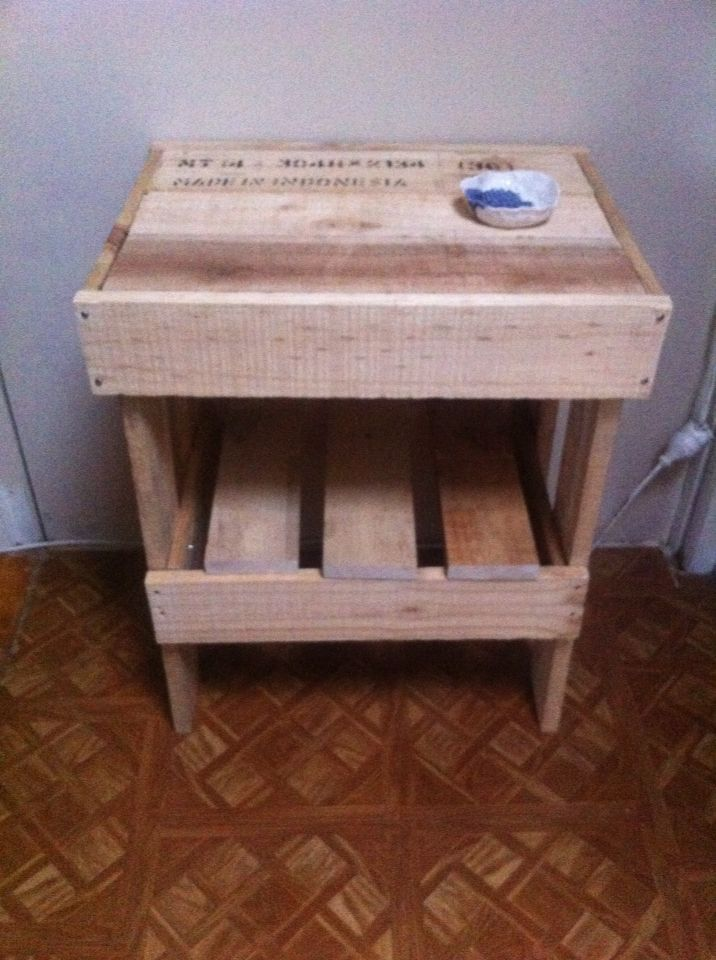 Pallet furniture I make and sell.