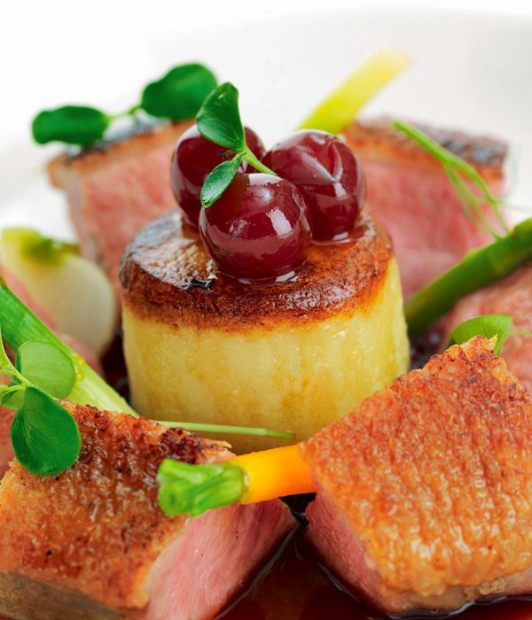 This duck breast recipe from Mark Jordan showcases the fantastic fowl, which has a great fat to meat ratio.