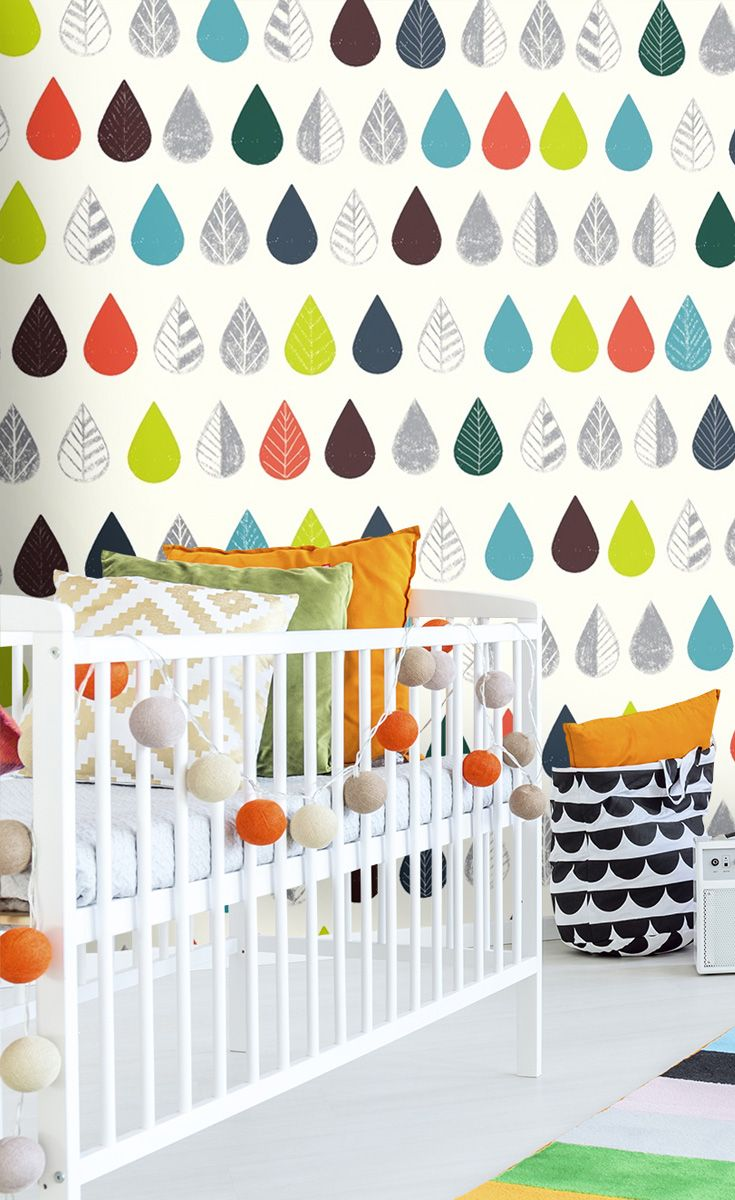 25 best baby room wall murals images on pinterest baby room autumn leaves wall mural amipublicfo Images