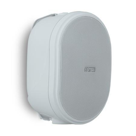 APart Apart OVO5 White  — 4831 руб. —  Настенный громкоговоритель, предназначенный для озвучивания небольших и средних помещений (офисы, кафе, магазины и др). Динамики: 1  ВЧ и 5,25  СЧ/НЧ, сопротивление: 8 Ом, частотный диапазон: 70 Гц - 20 кГц, чувствительность: 91 дБ.