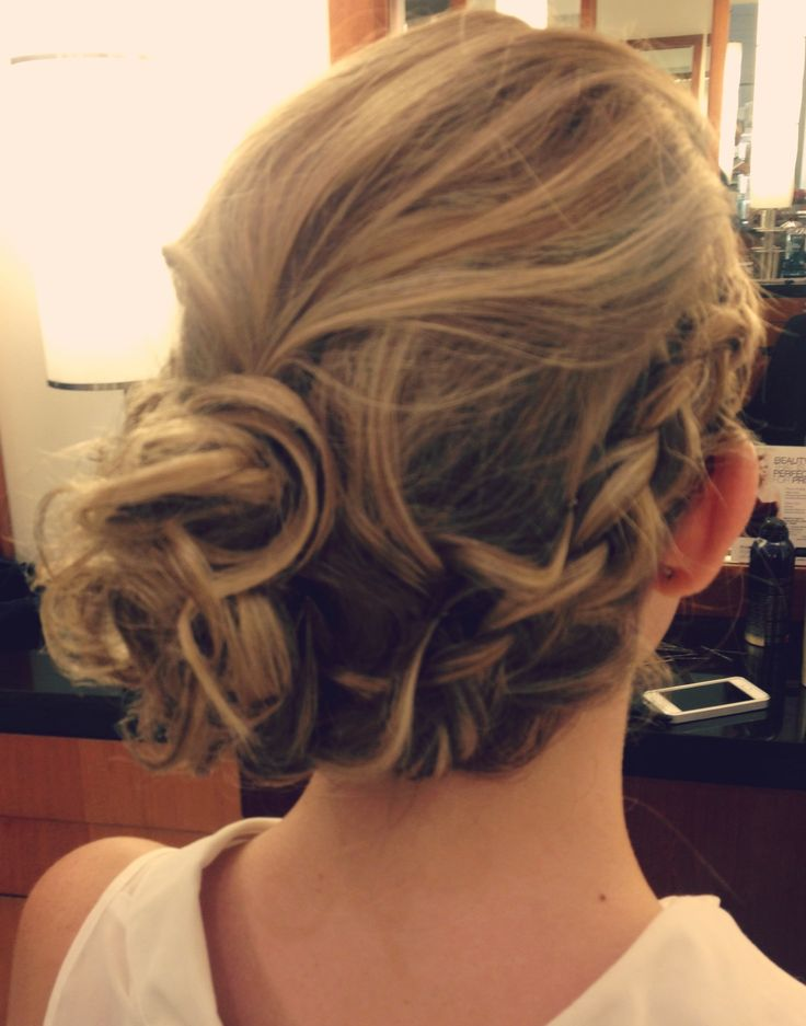 A soft and elegant Bridal Hair Style.  #hair #hairstyle #bridalhair #wedding  www.donato.ca