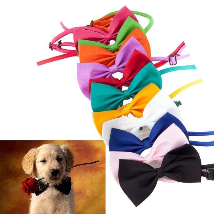 Gentleman Dog Cat Puppy Neckties Animal Suit and Tie Kitten Cats Dog Pets Bowknots Hound Pet Pup Bow Tie Children Kid Bow-ties