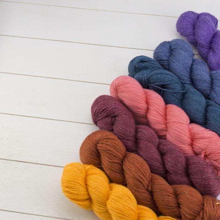 100g Pinta Strickwolle | Ein Garn aus Wolle, Seide und Ramie. Strickwolle