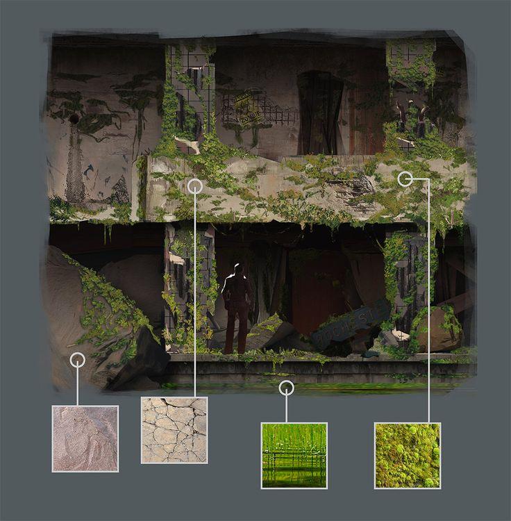 ArtStation - Underground Callout - Textures, Ricardo Guimaraes