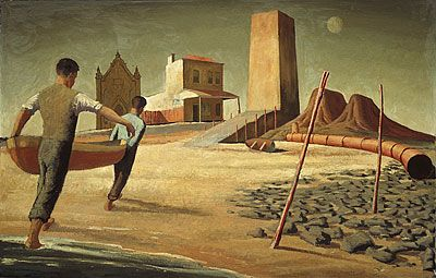 Jeffrey Smart  Wallaroo  1951