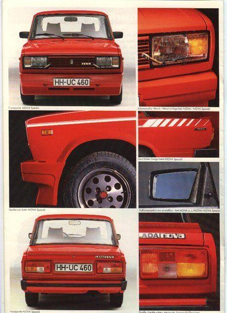 Lada Nova Spezial. Специально из Германии. — DRIVE2