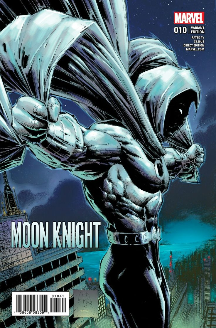 Moon Knight #10 (2017) Variant Cover by Whilce Portacio