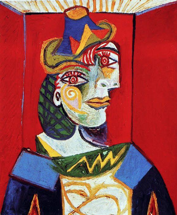Picasso: Femme à la résille (1938)